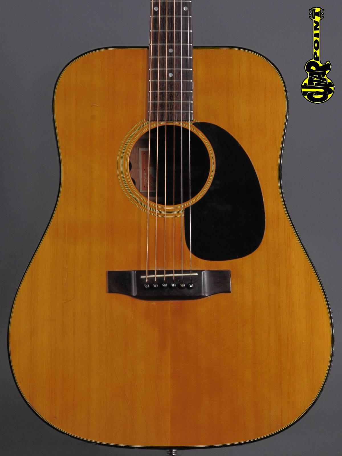 1972 Gibson J-50 - Natural (incl. Fishman PU)