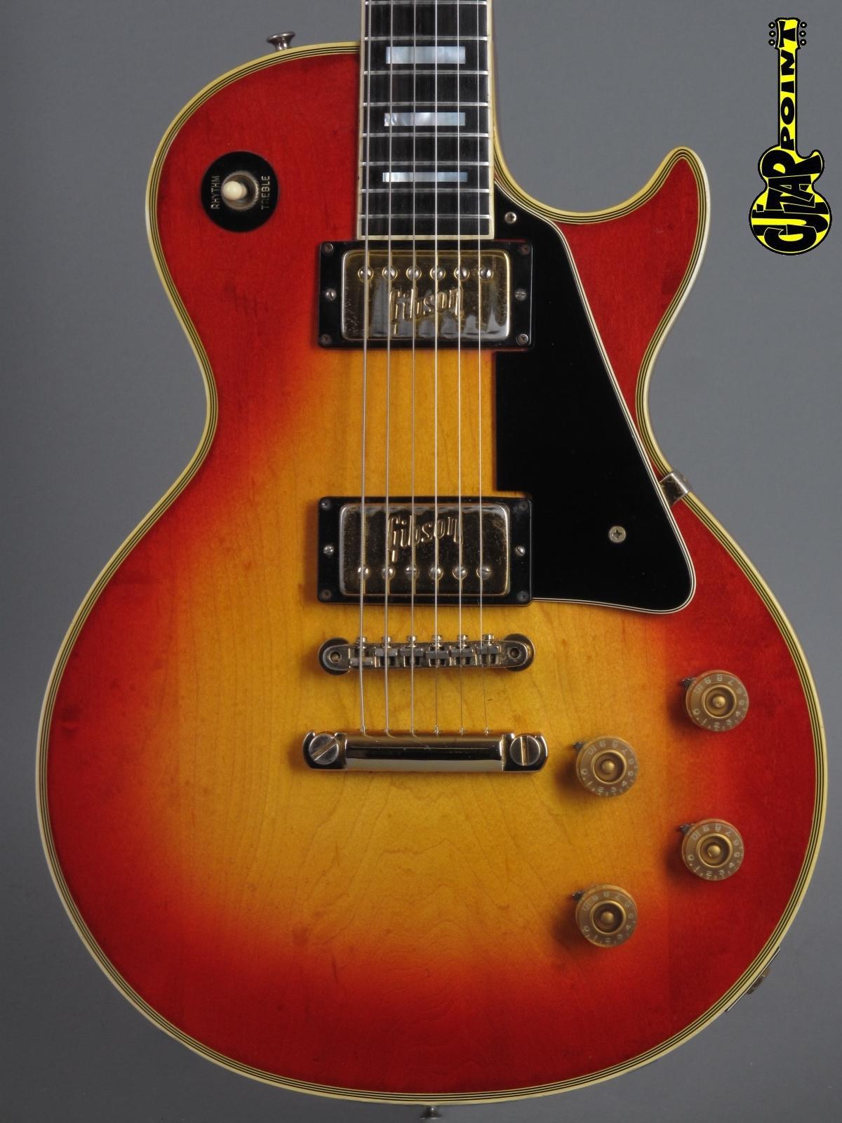 1972 Gibson Les Paul Custom - Cherry Sunburst