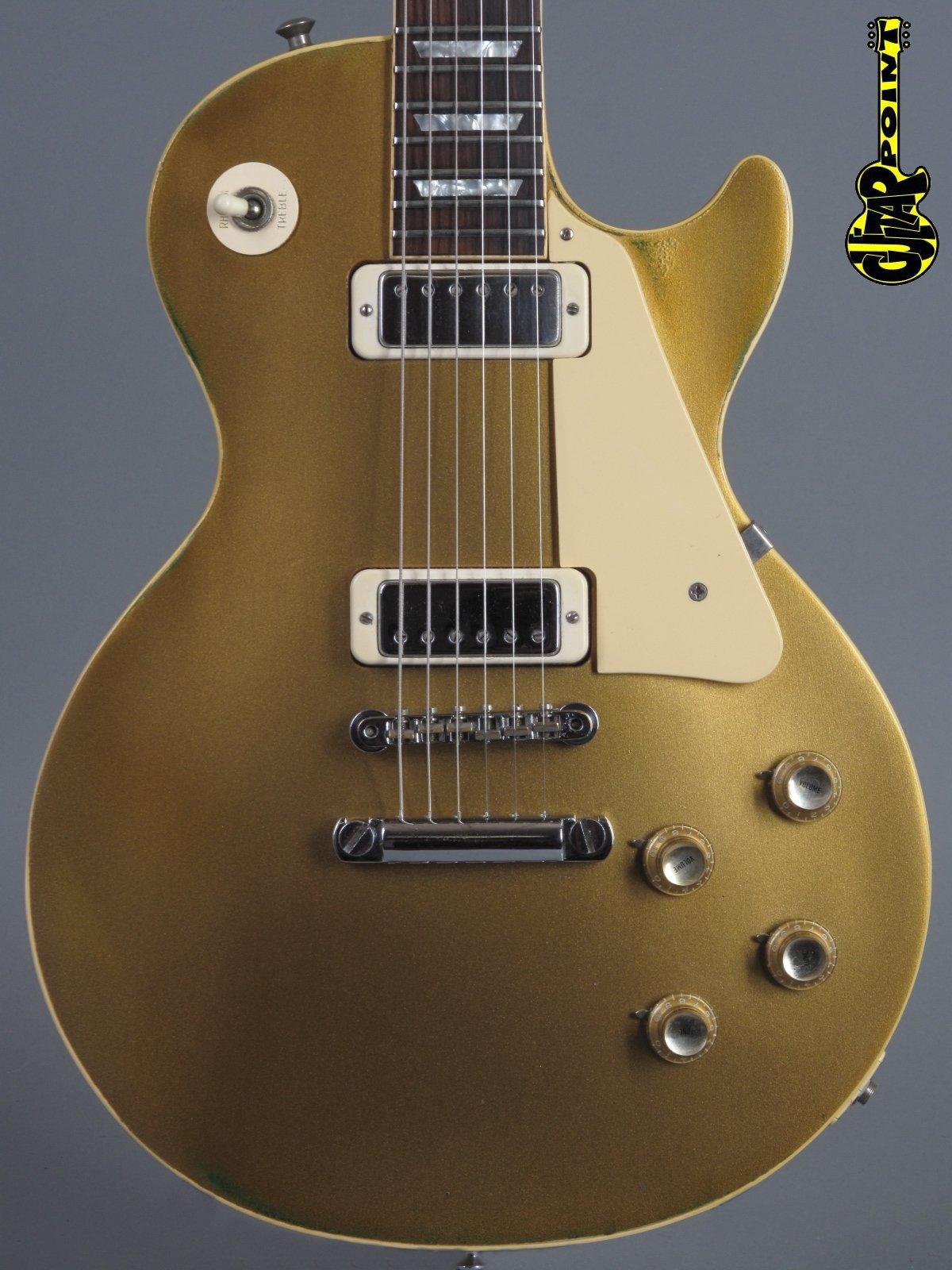 1972 Gibson Les Paul Deluxe - Goldtop