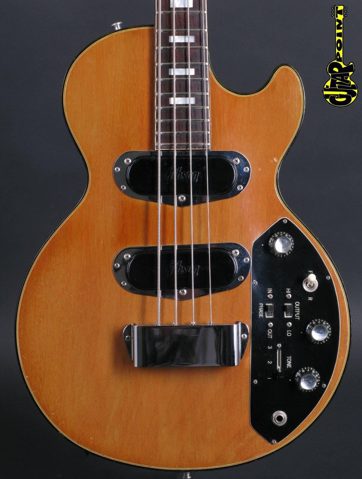 1972 Gibson Les Paul Triumph Bass - Natural