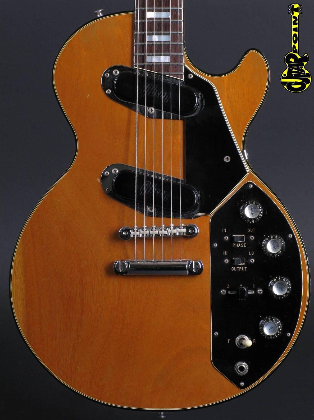 1972 Gibson Les Paul Recording - Natural