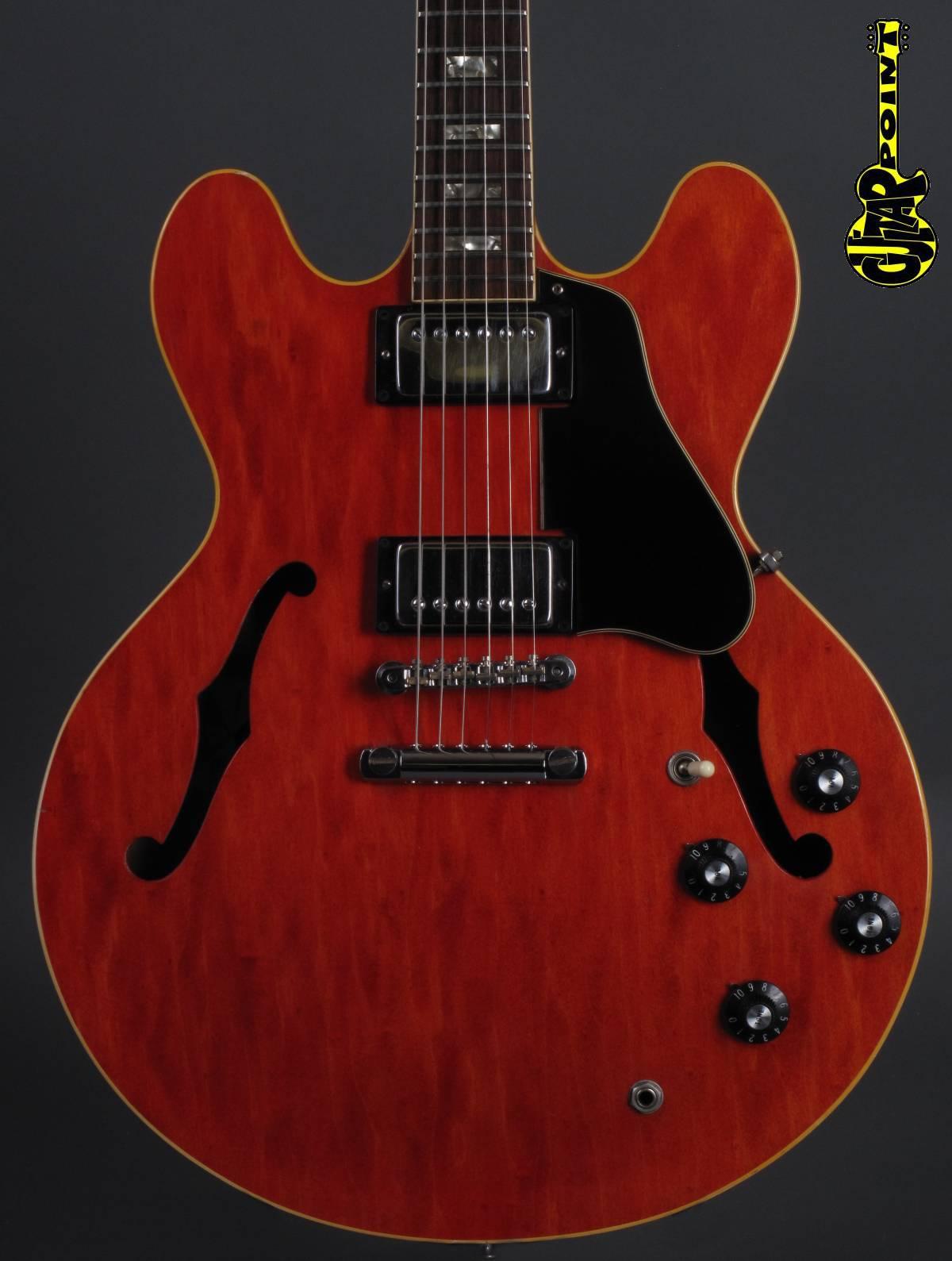 1973 Gibson ES-335 - Cherry