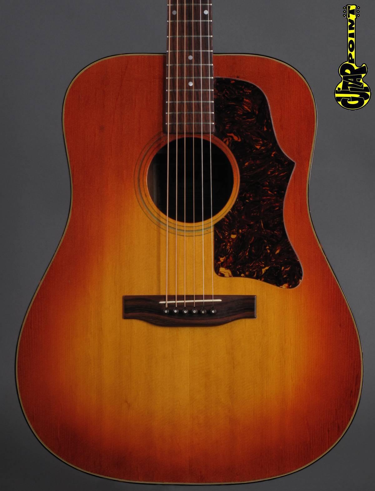 1973 Gibson J-45 Deluxe - Sunburst
