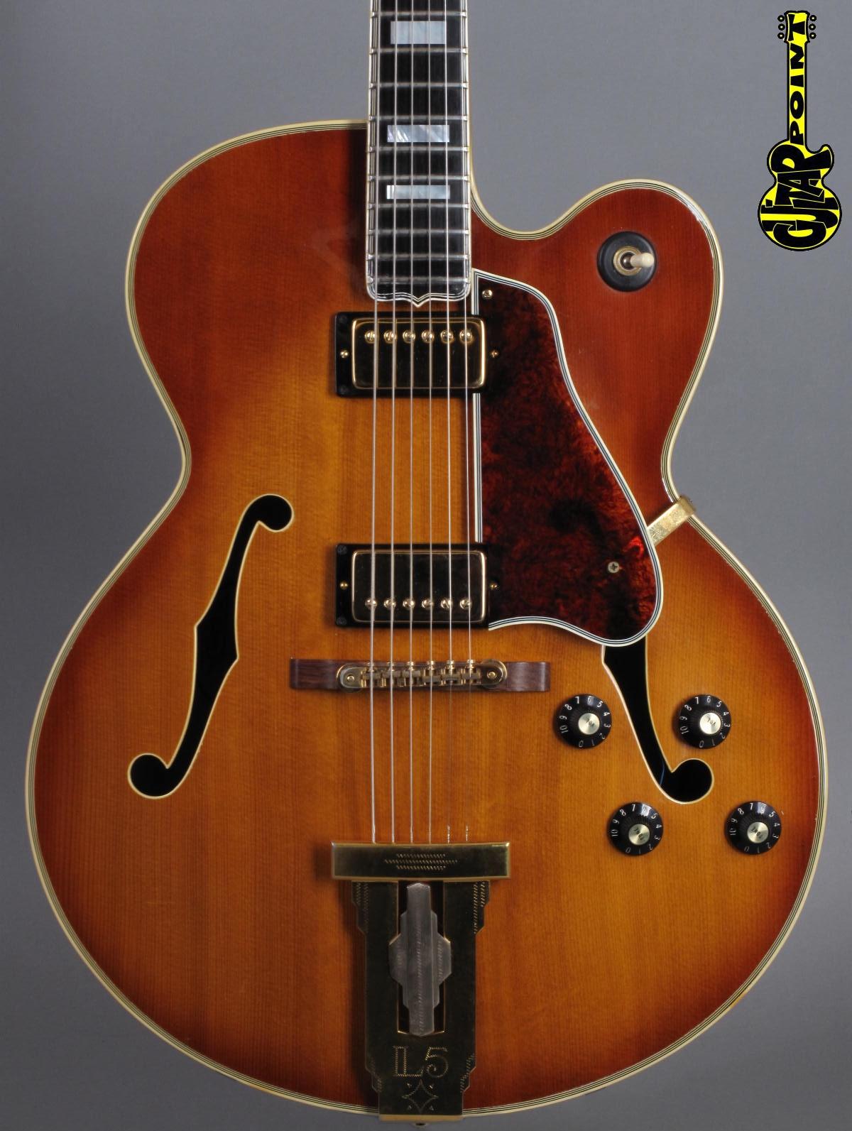 1973 Gibson L5 CES - Sunburst