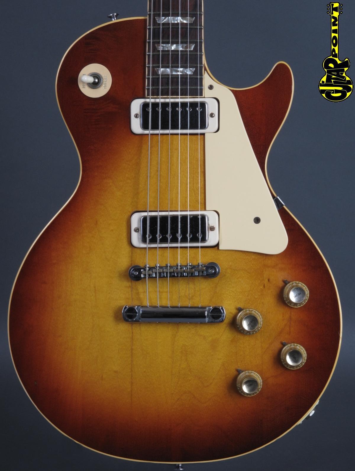 1973 Gibson Les Paul Deluxe - Cherry Sunburst