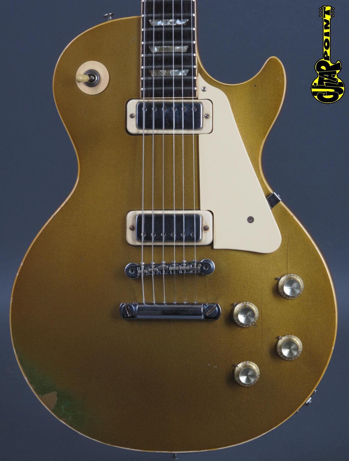 1973 Gibson Les Paul Deluxe - Goldtop