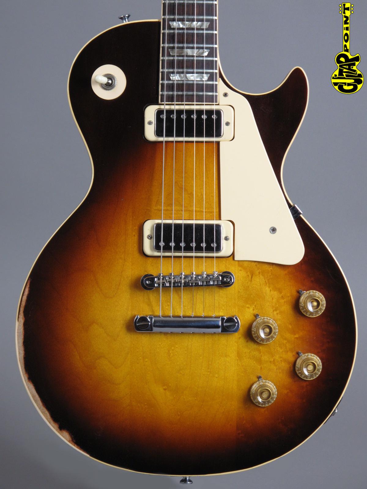 1973 Gibson Les Paul Deluxe - TobaccoSunburst
