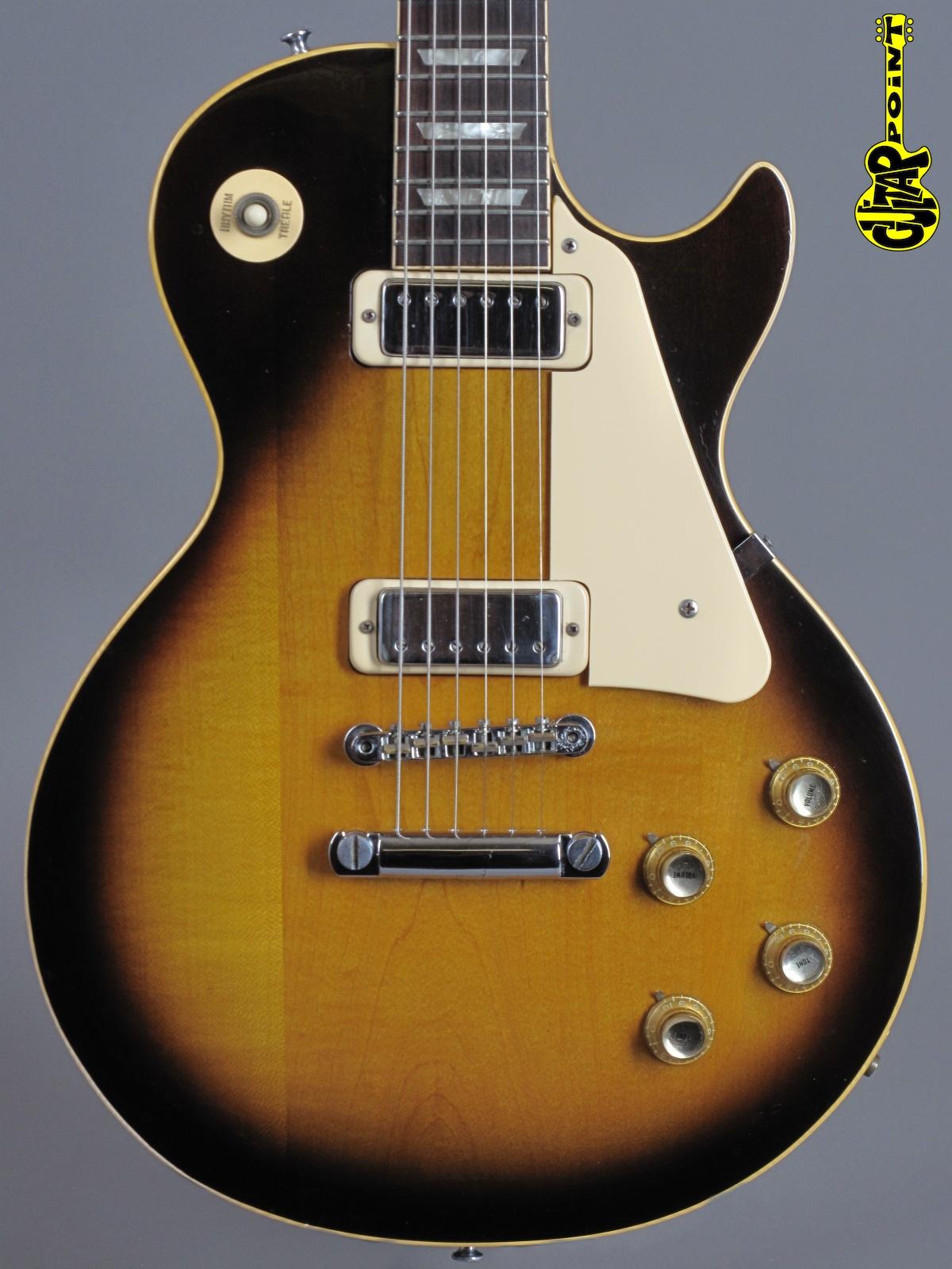 1974 Gibson Les Paul Deluxe - Tobacco Sunburst