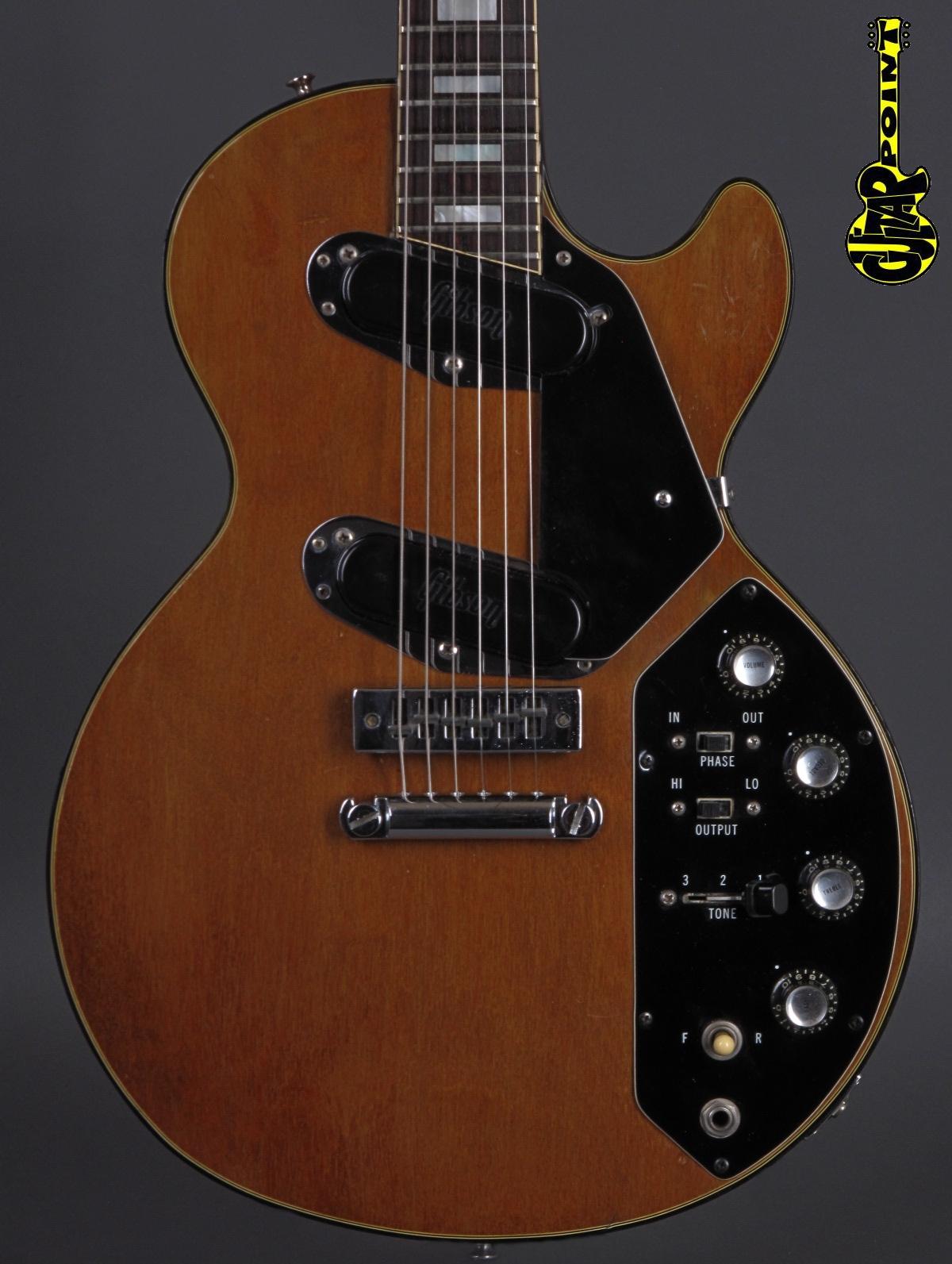 1973 Gibson Les Paul Recording - Natural