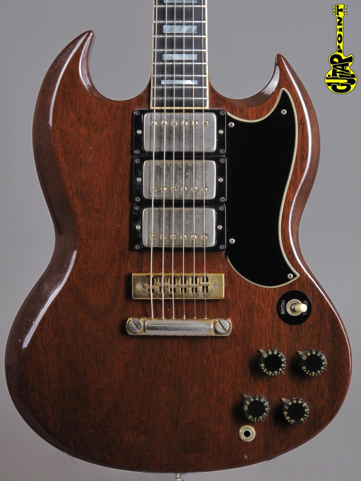 1973 Gibson SG Custom - Mahogany