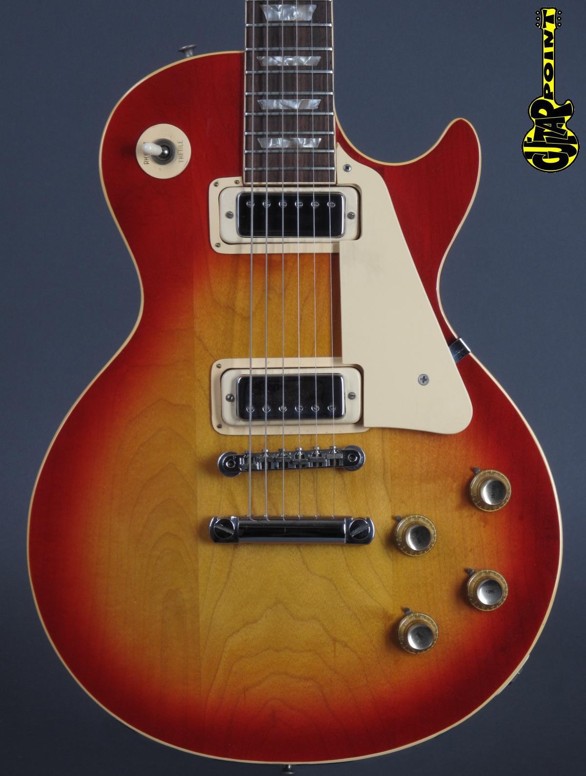 1974 Gibson Les Paul Deluxe - Cherry Sunburst  ...minty !!!