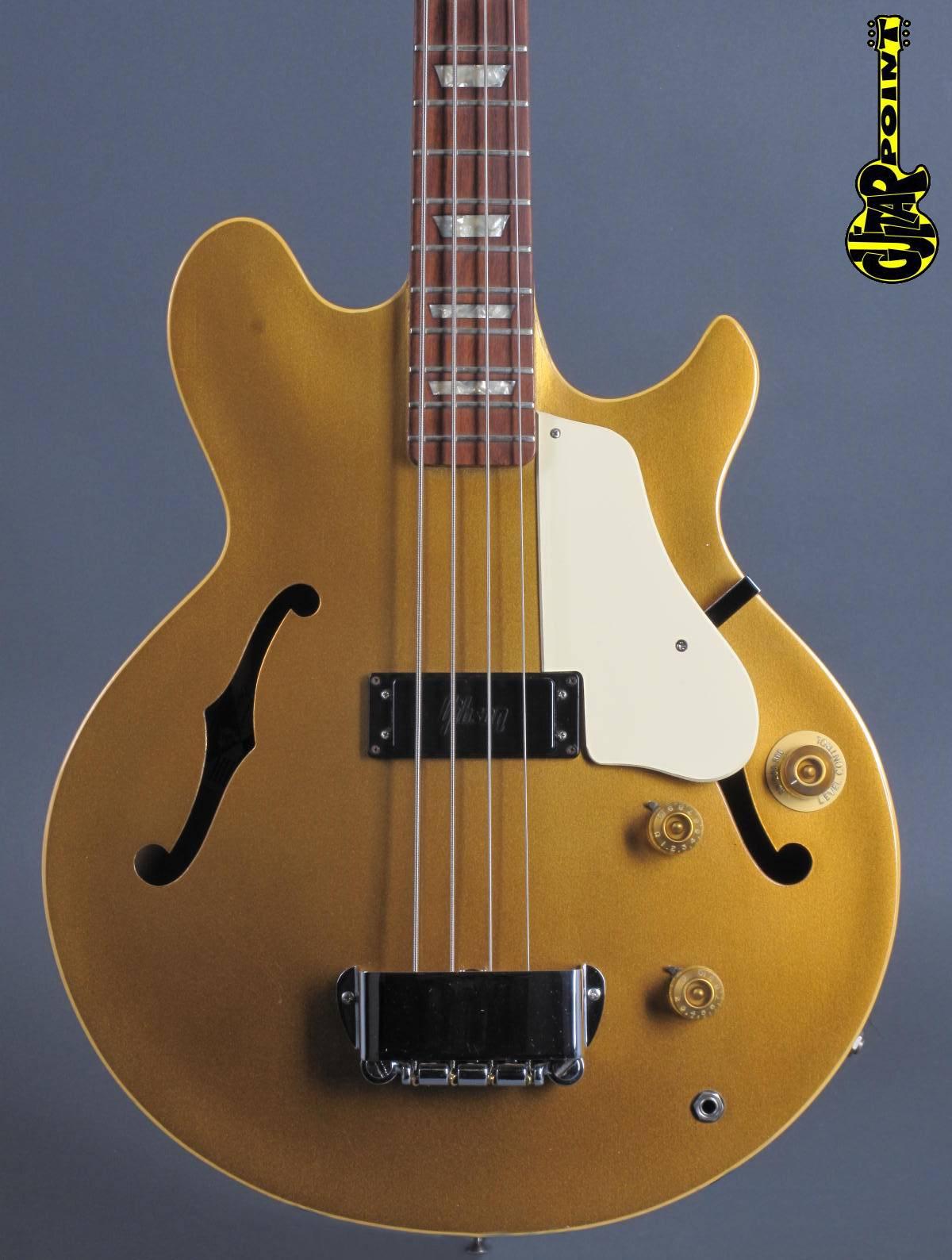 1974 Gibson Les Paul Signature Bass - Goldmetallic