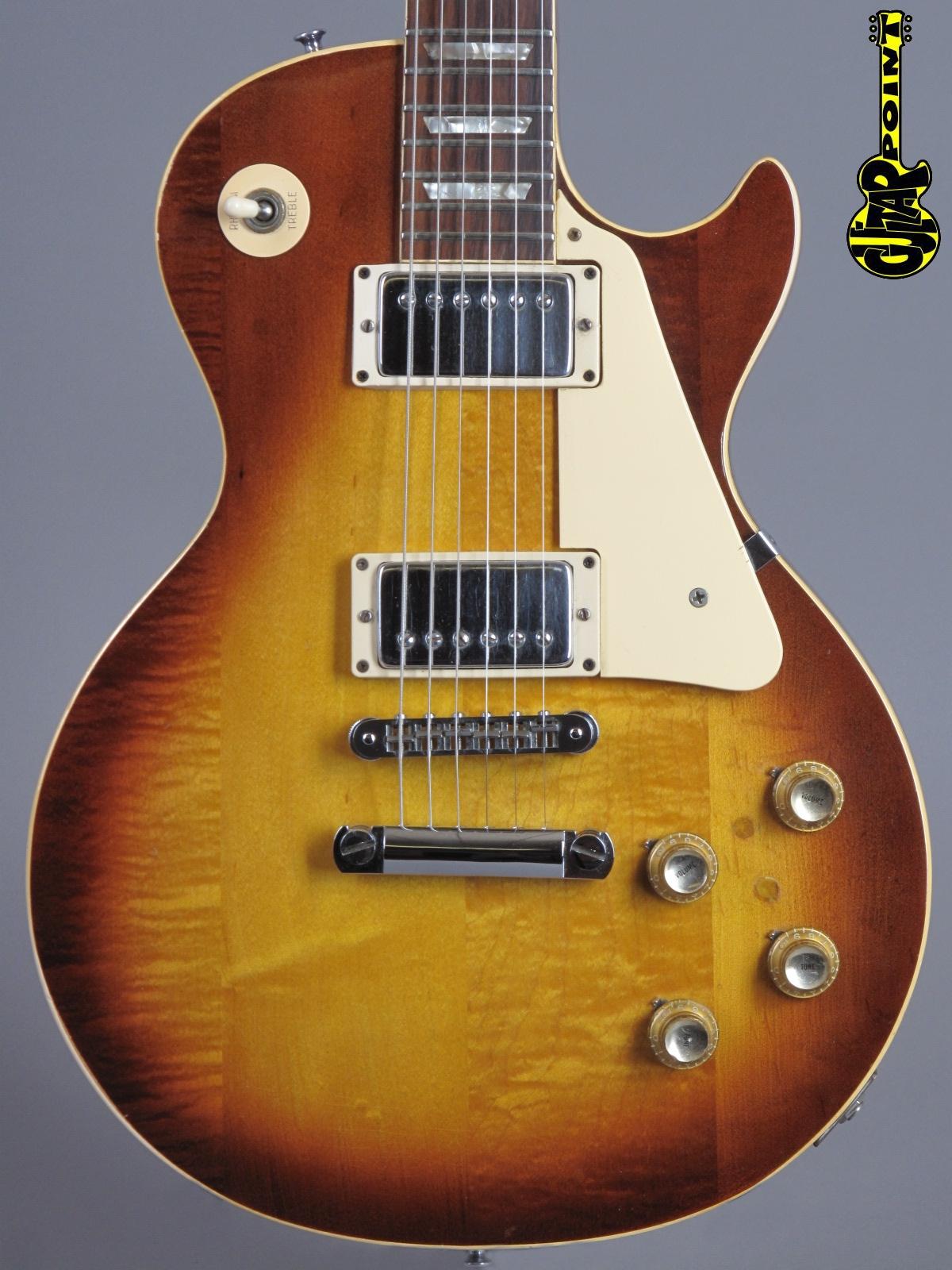 "1974 Gibson Les Paul Standard - Sunburst  ""figured top"""