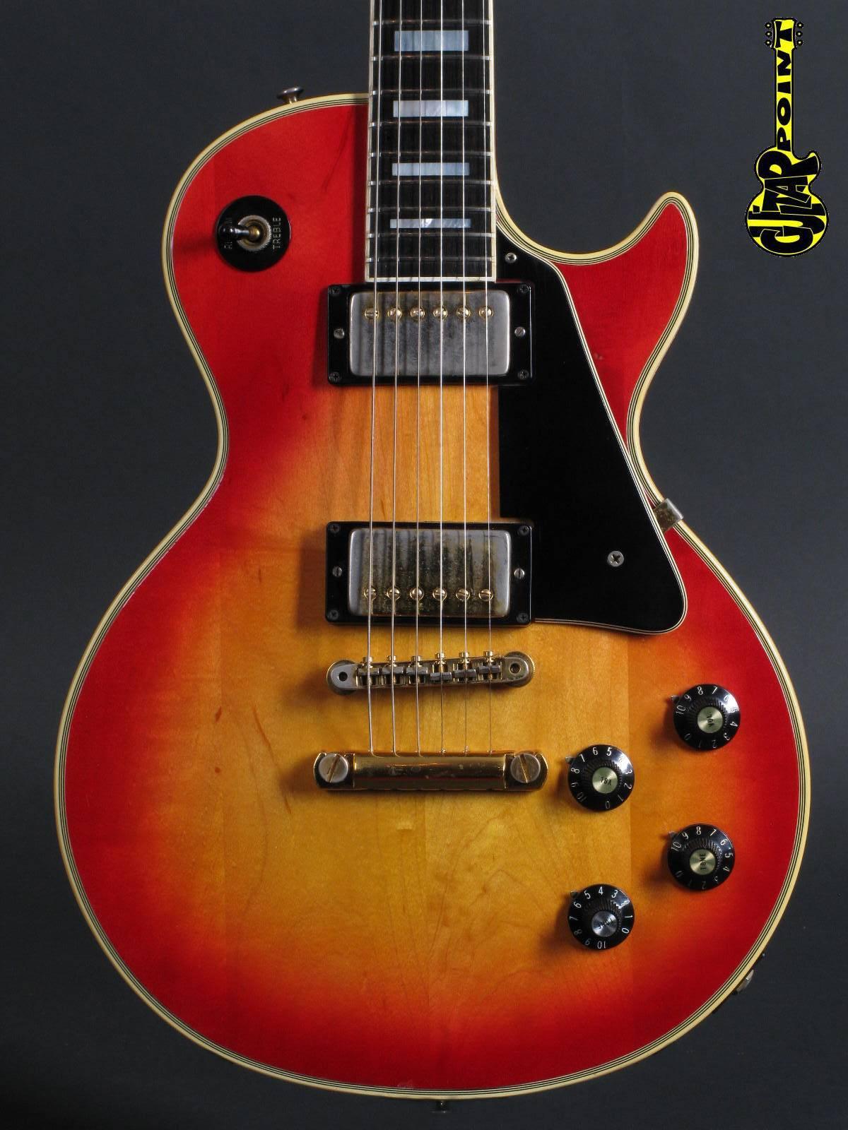 1974 Gibson Les Paul Custom - Cherry Burst