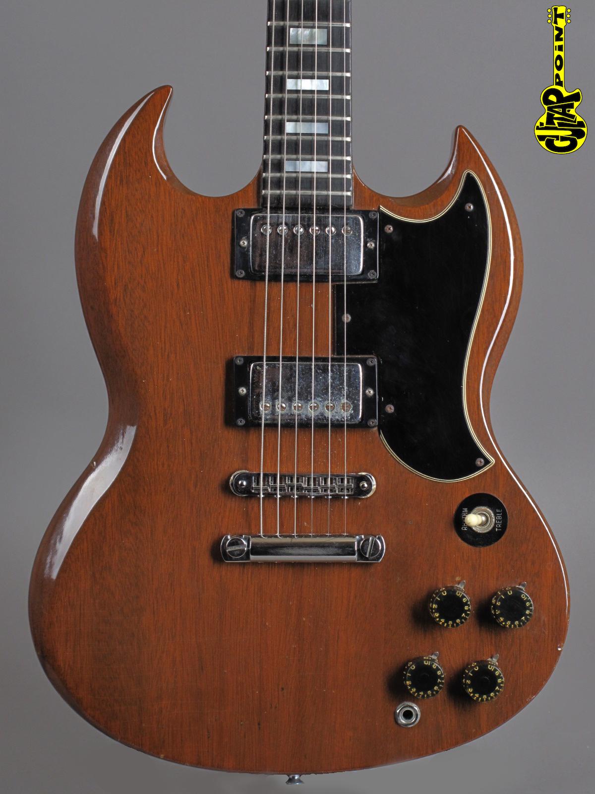 1974 Gibson SG Standard - Walnut