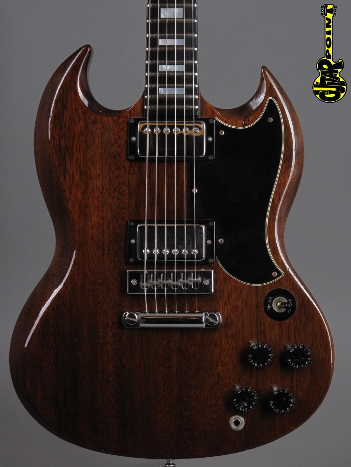 1974 Gibson SG Standard - Mahogany