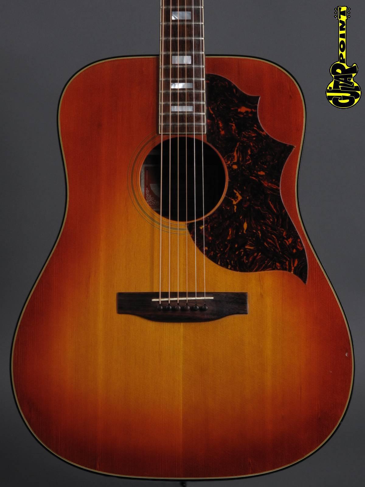 1974 Gibson SJ-Deluxe (Southern Jumbo) / Sunburst