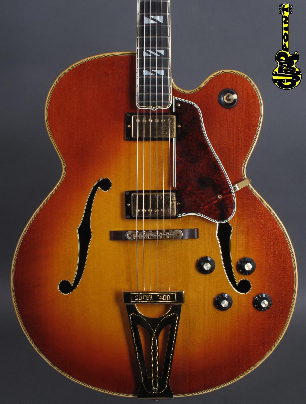 1974 Gibson Super 400 CES - Sunburst
