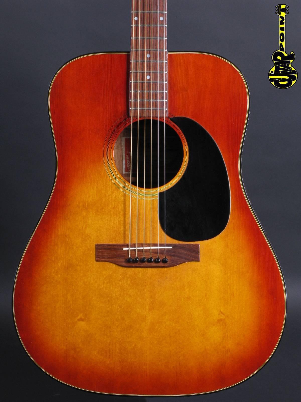 1974 Gibson J-45 Deluxe - Sunburst