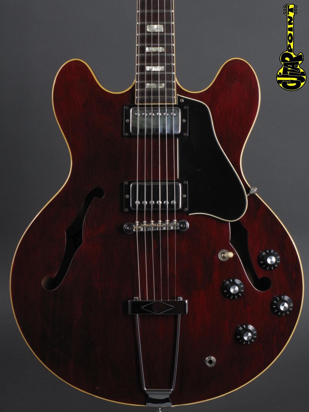 1975 Gibson ES-335 TD - Winered