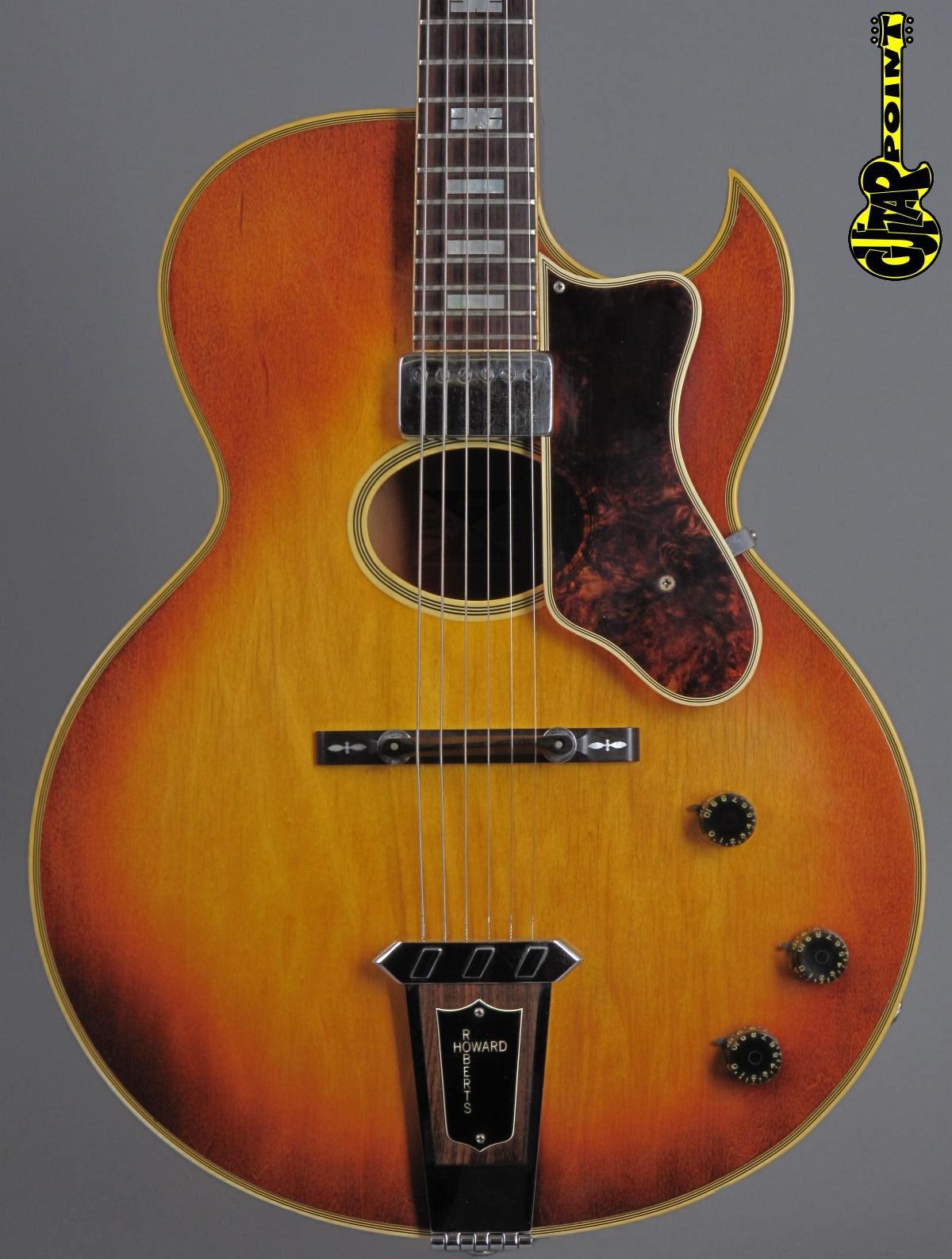 1975 Gibson Howard Roberts Custom - Sunburst