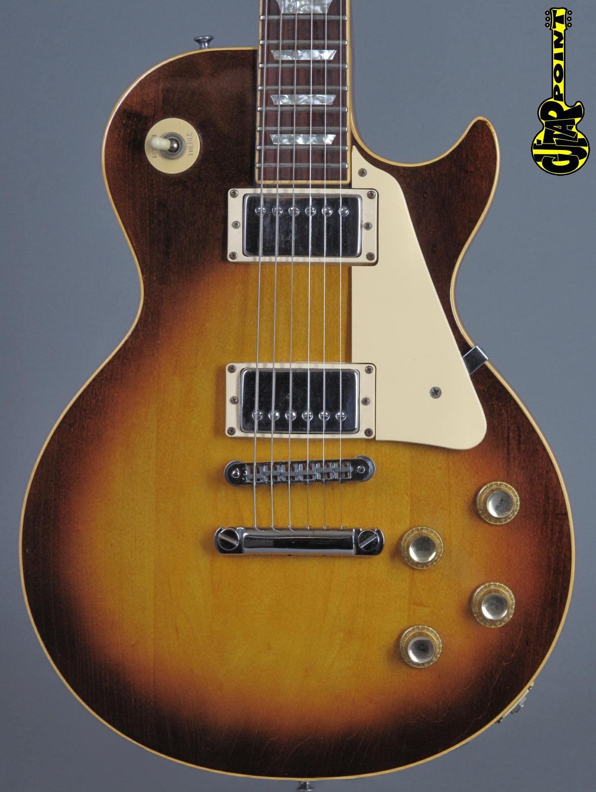 1975 Gibson Les Paul Standard - Honey Burst