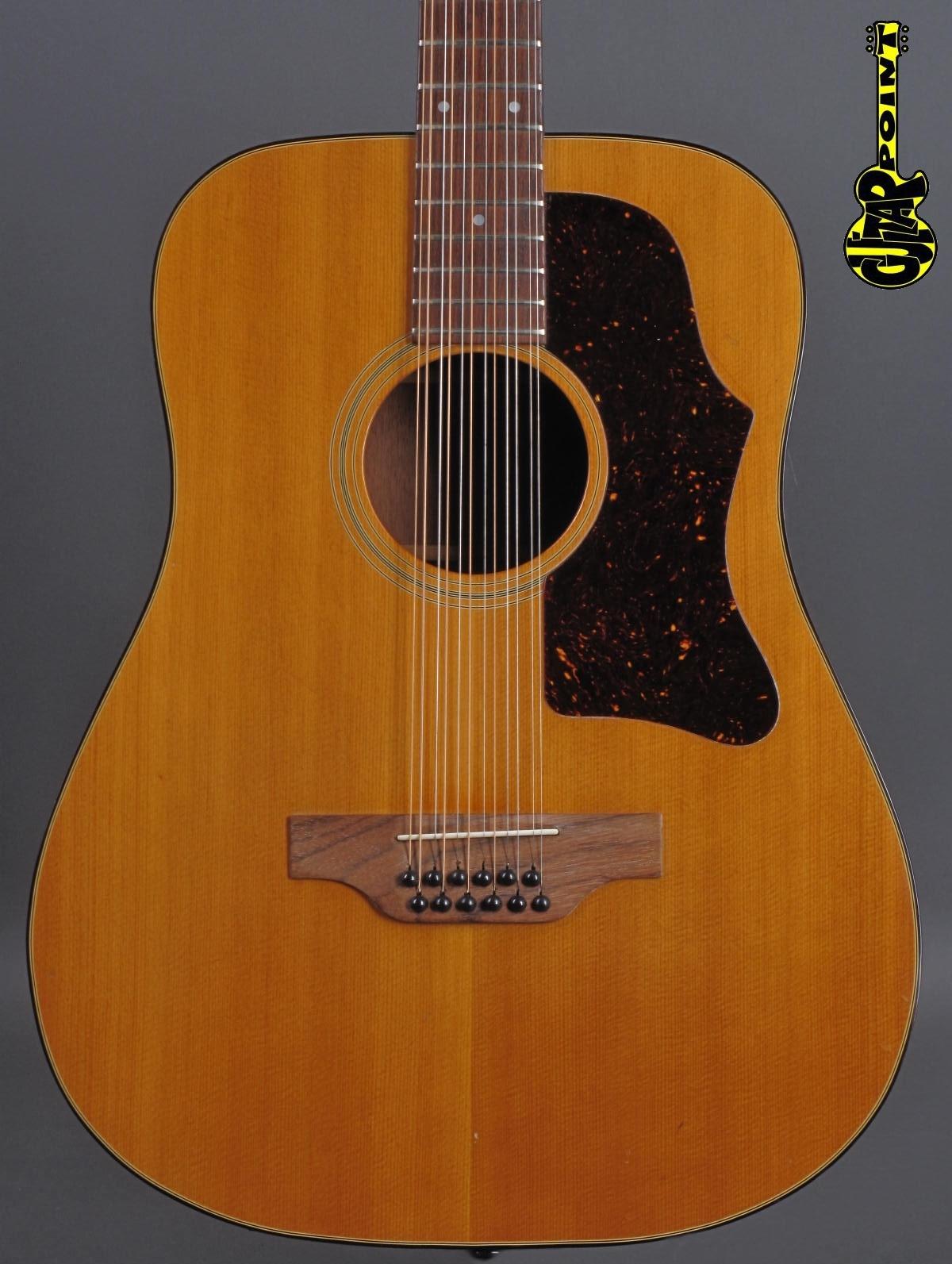 1976 Gibson B-45 12-string - Natural