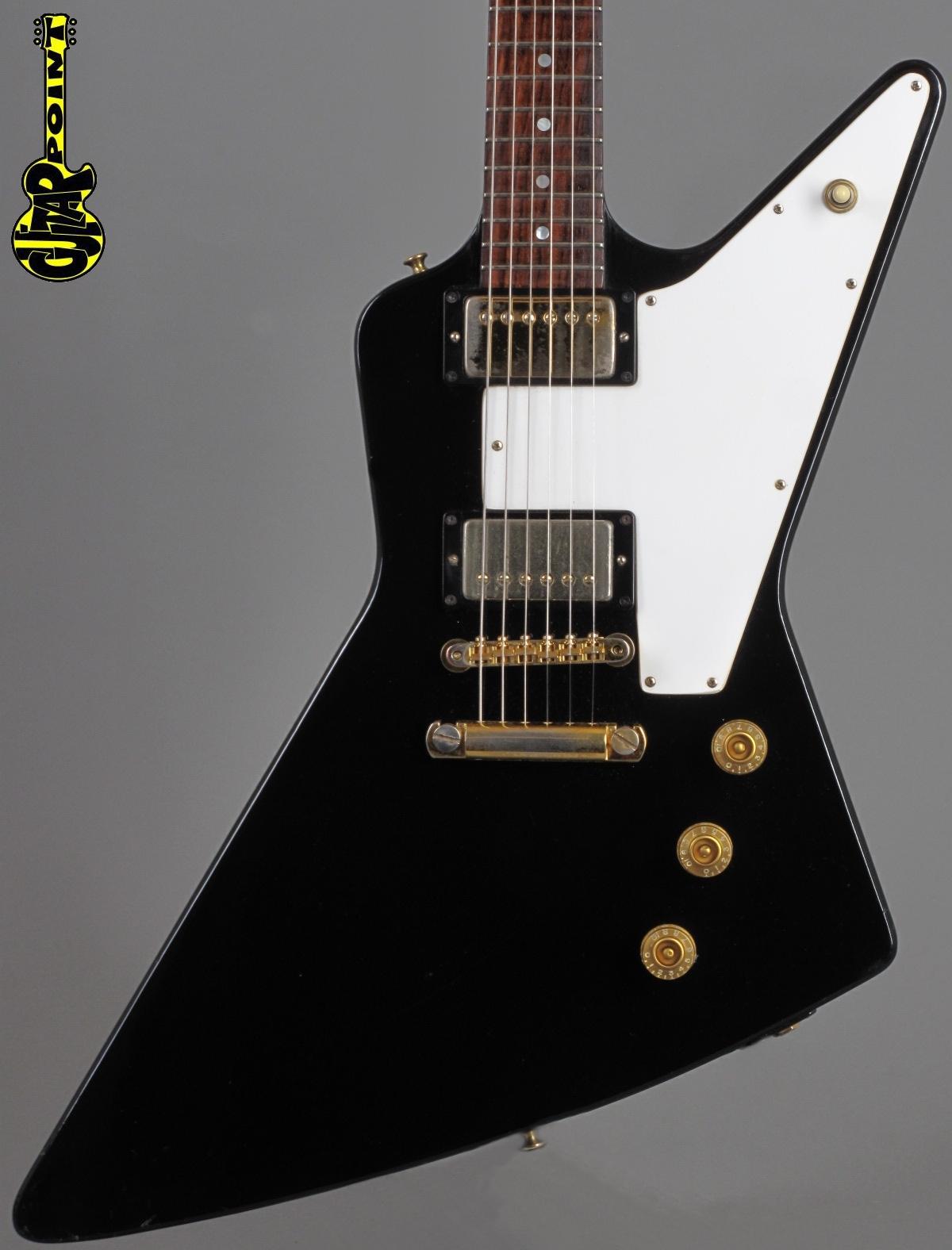 1976 Gibson Explorer - Ebony