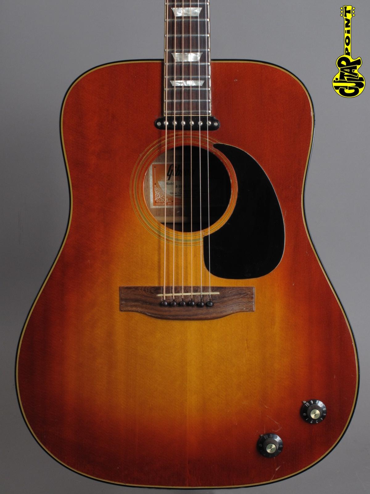1976 Gibson EJ-160E - Sunburst