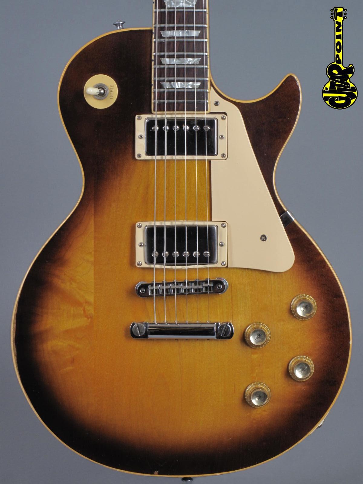 1976 Gibson Les Paul Standard - Honey Sunburst