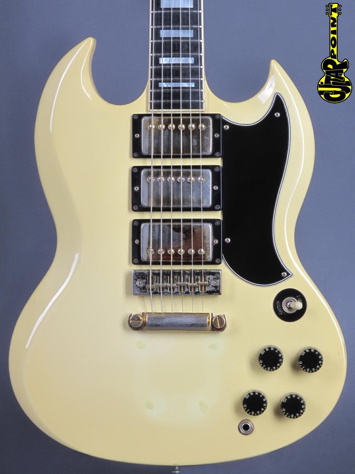 1976 Gibson SG Custom - White