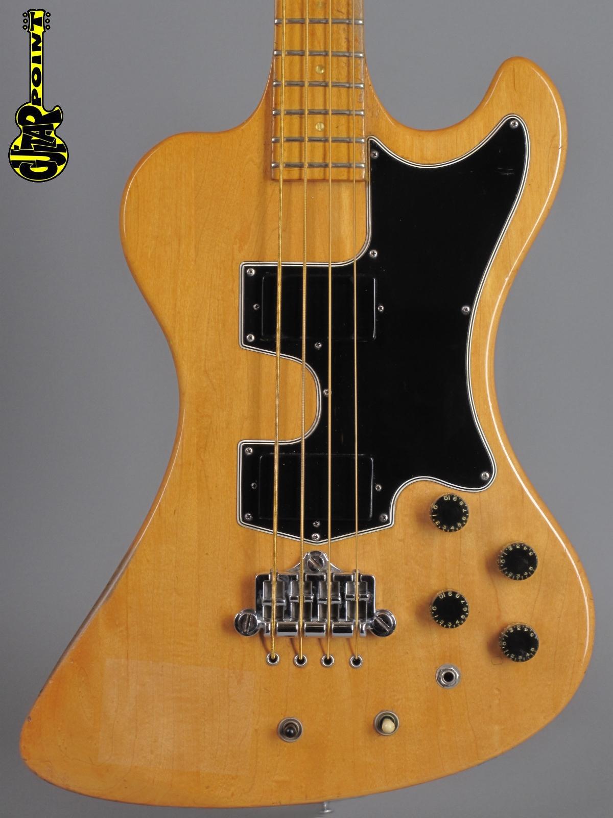 1977 Gibson RD Artist Bass - Natural