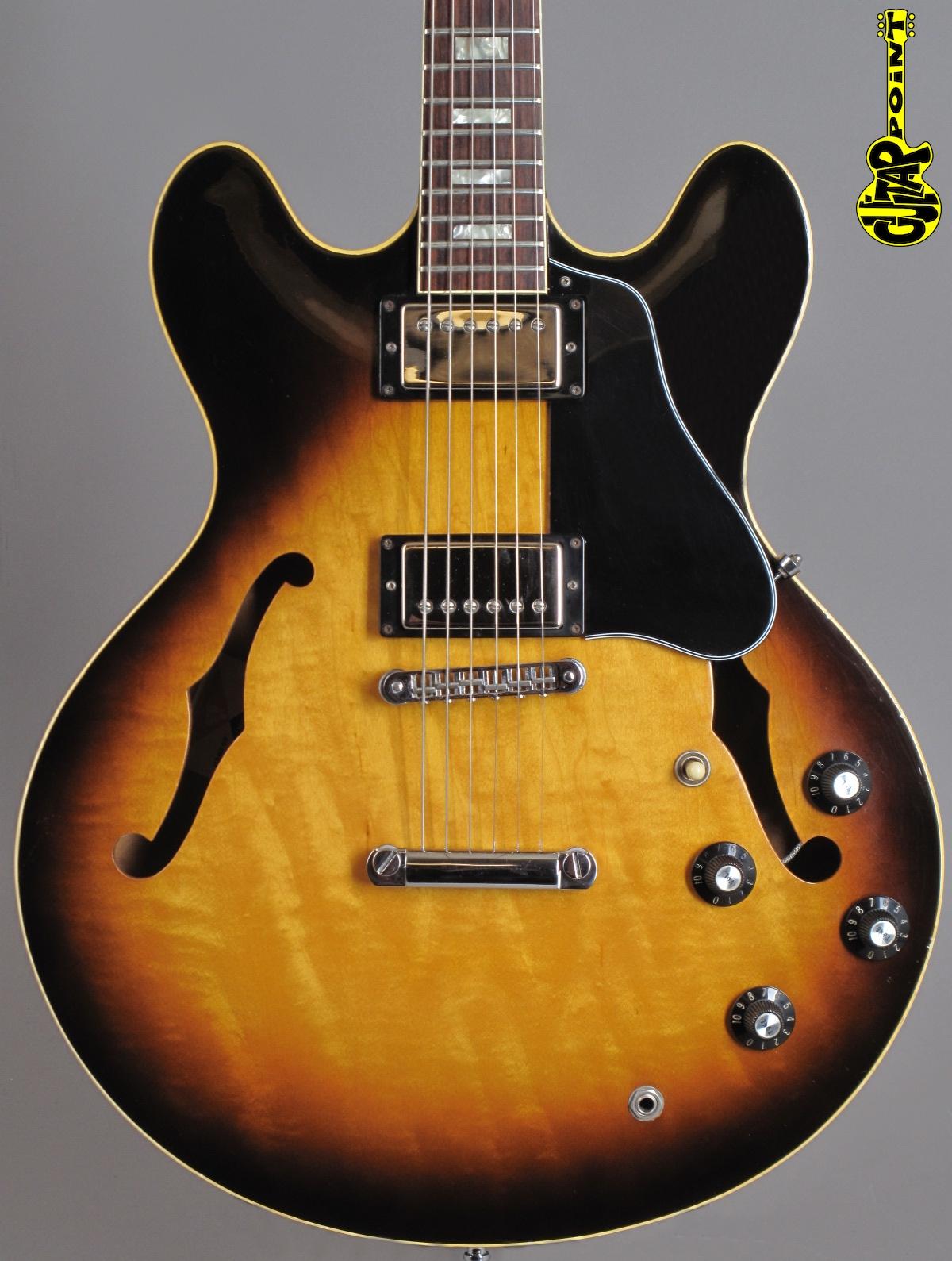 1978 Gibson ES-335 TD - Sunburst