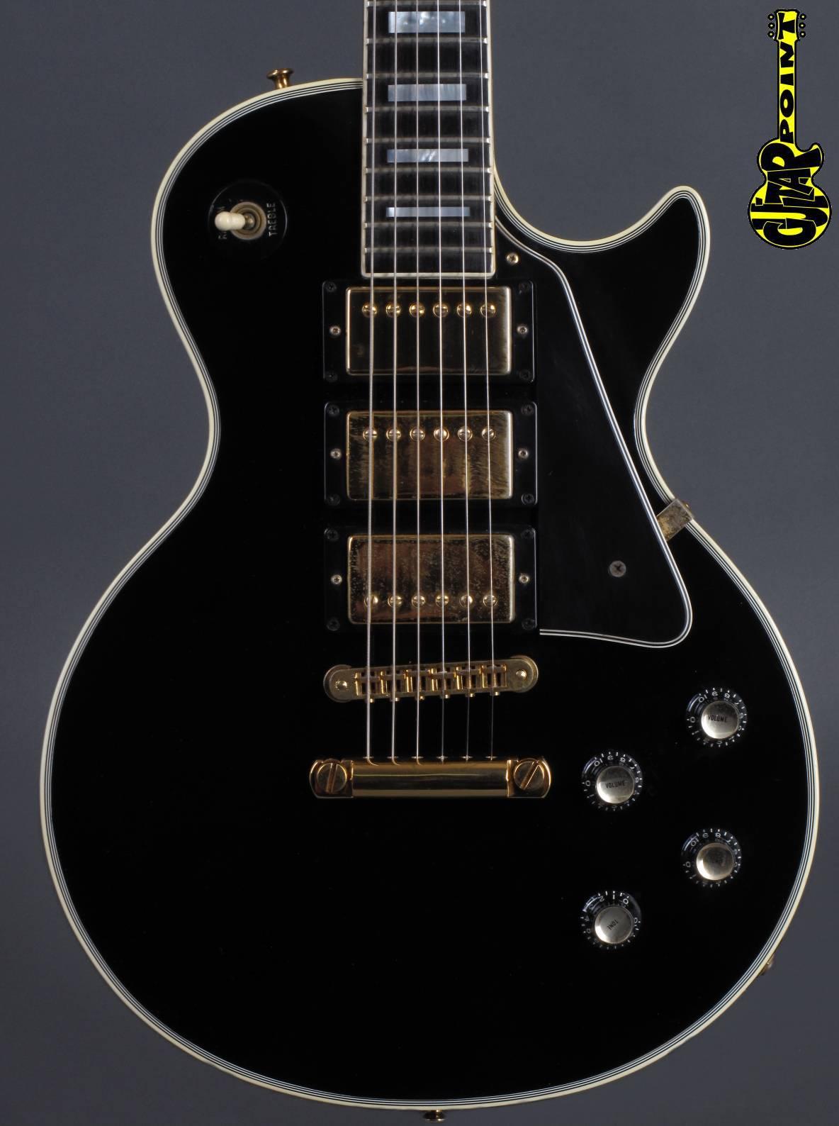 "1978 Gibson Les Paul Custom 3xPUs ""Black Beauty"""