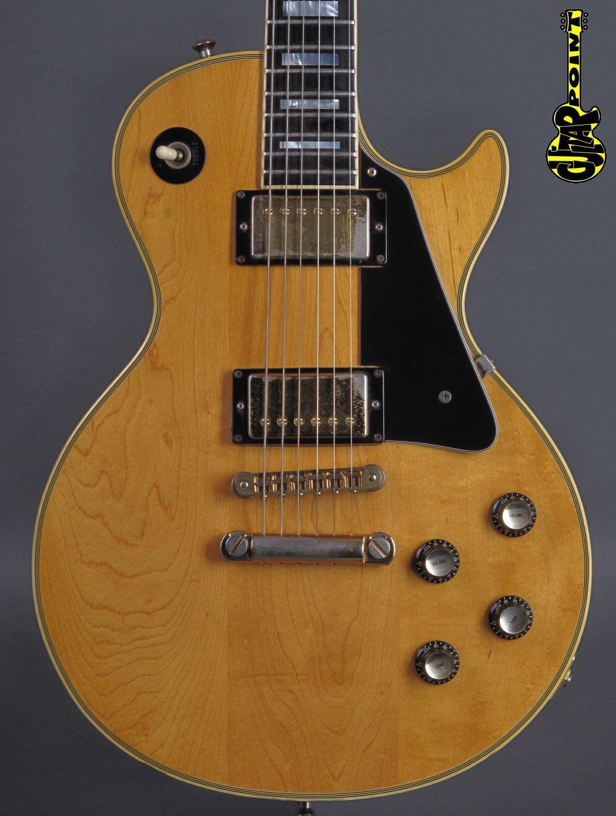 1978 Gibson Les Paul Custom - Natural