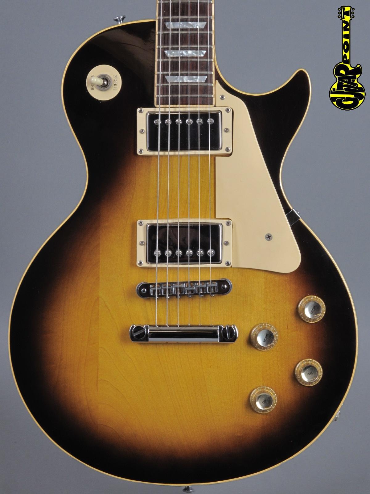 1978 Gibson Les Paul Standard - Tobacco Sunburst   ...mint !