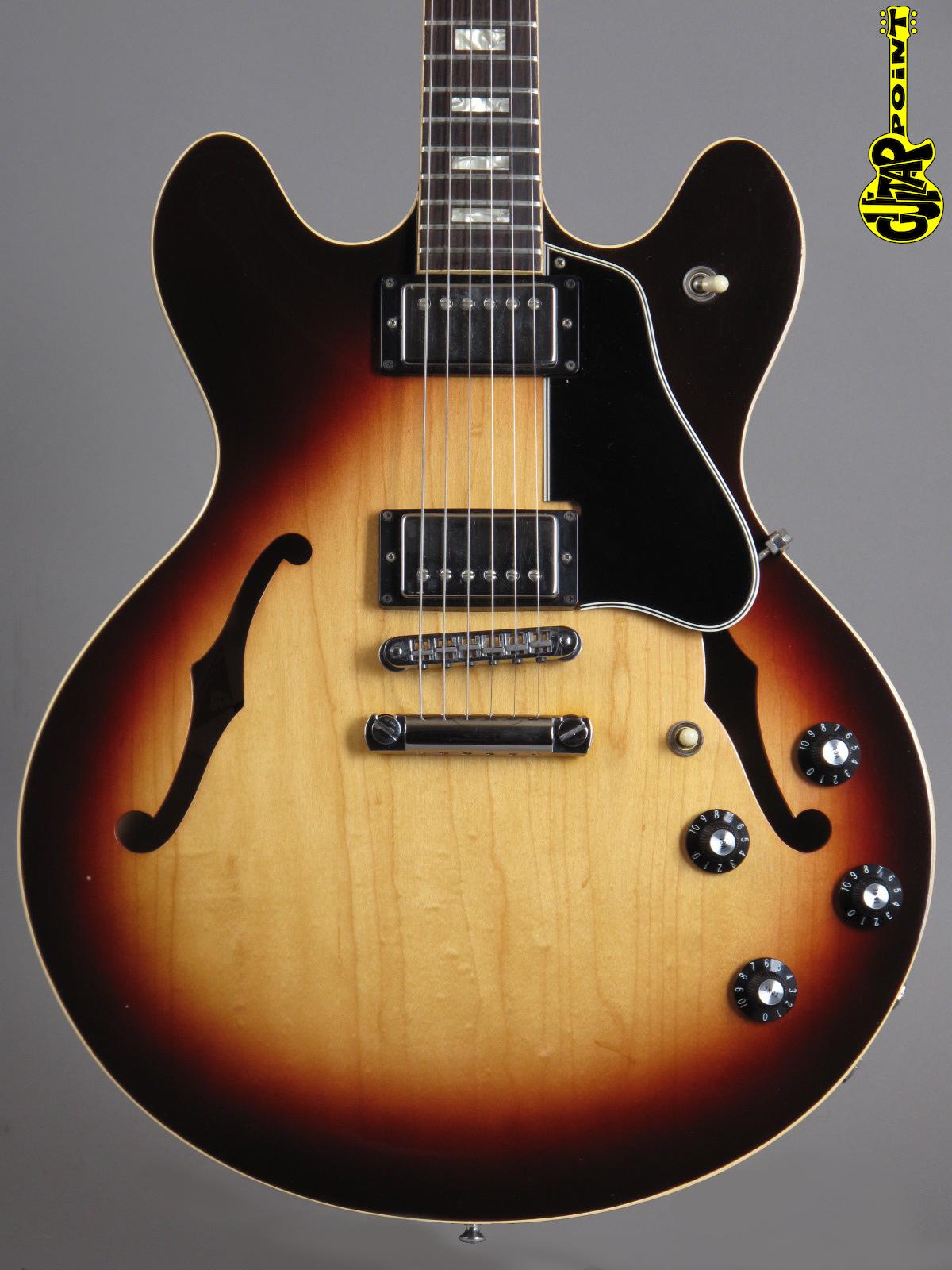 1979 Gibson ES-335 TD Stereo Sunburst - Super Rare!