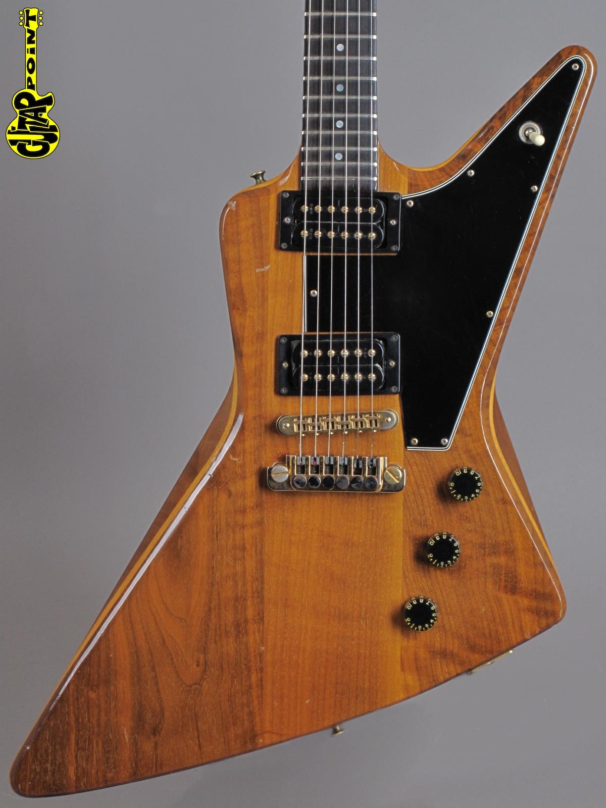 1980 Gibson Explorer E/2 - Natural