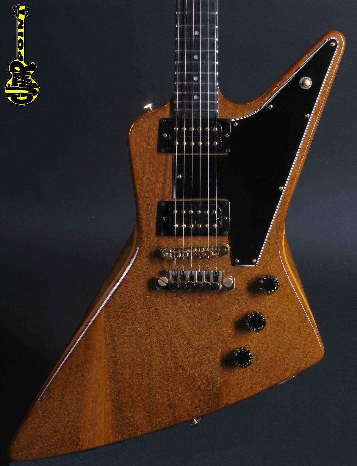 1981 Gibson Explorer E/2 - Natural