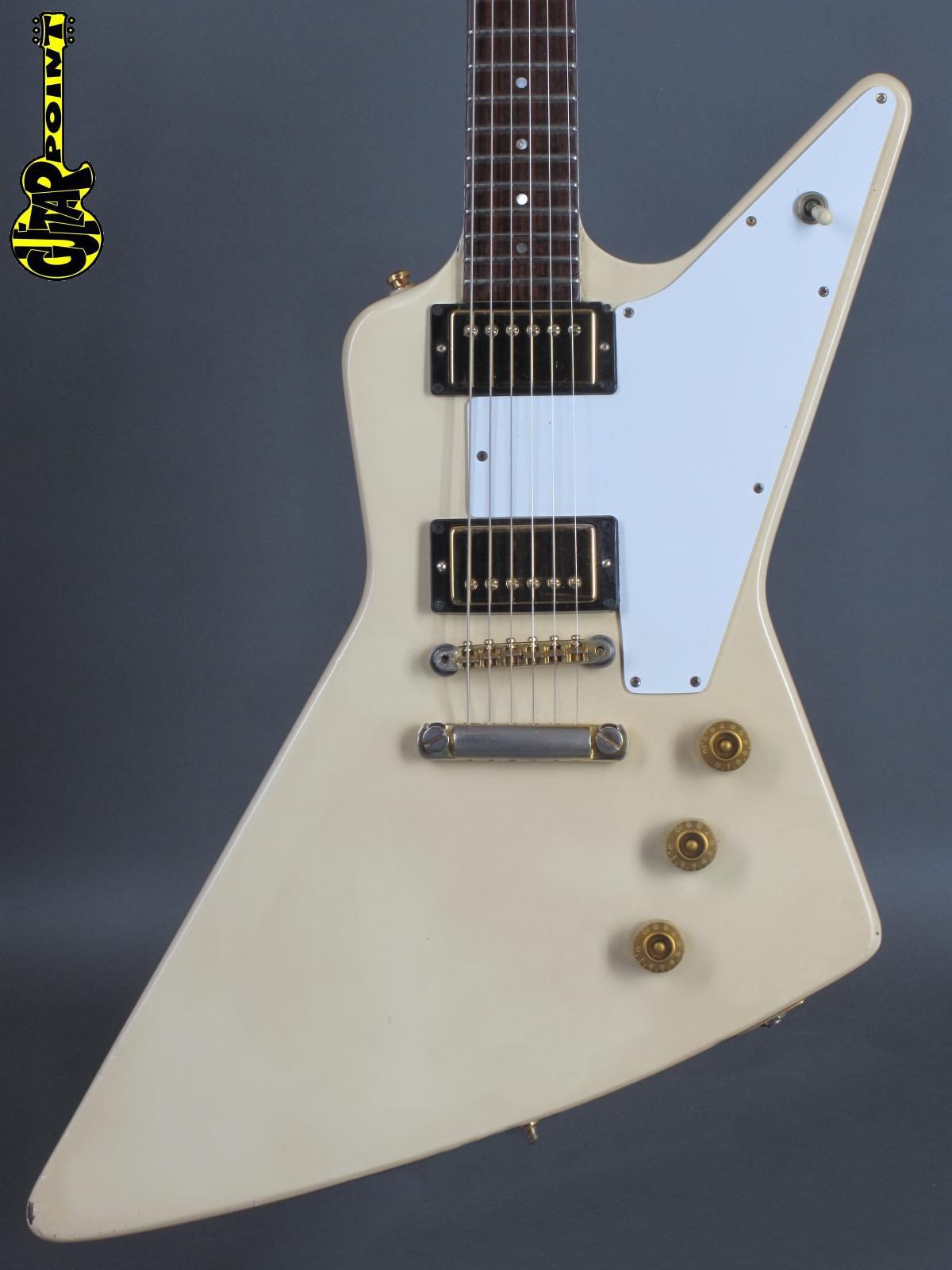 1980 Gibson Explorer (Mahogany) - White