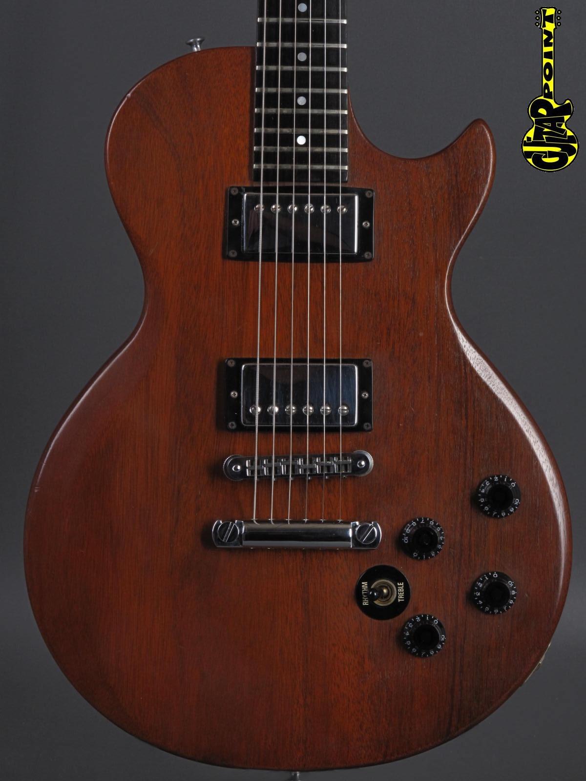 1980 Gibson Les Paul Firebrand - Natural Mahagony