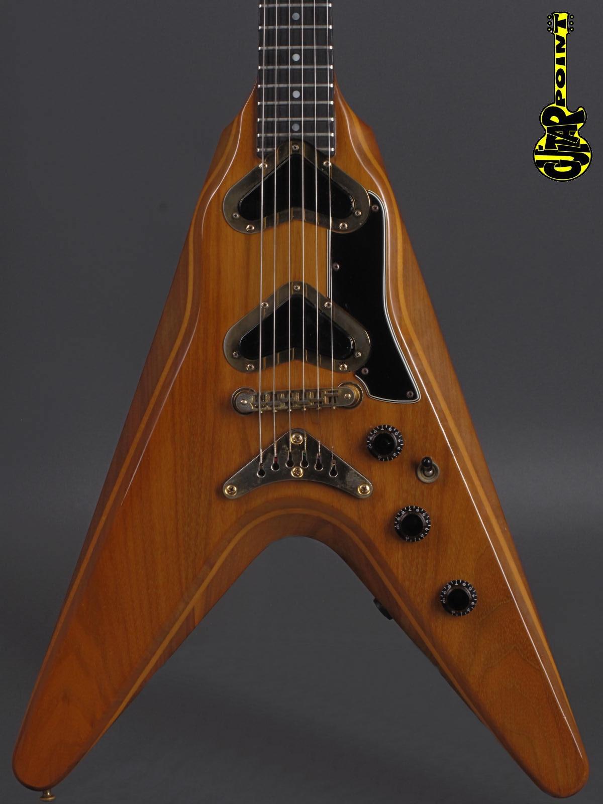 1980 Gibson Flying V2 - Natural