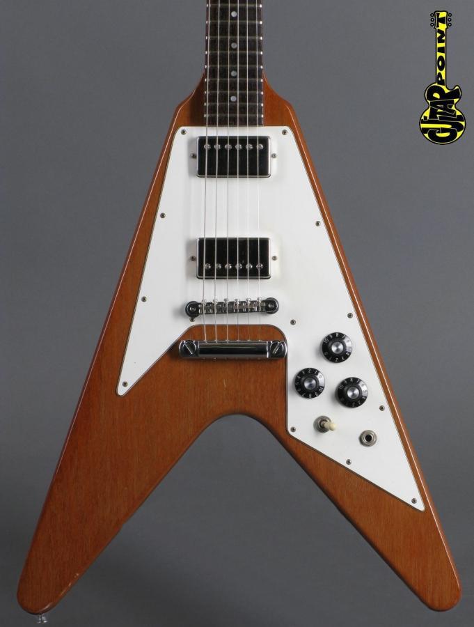 1980 Gibson Flying V - Natural   incl. orig. HSC