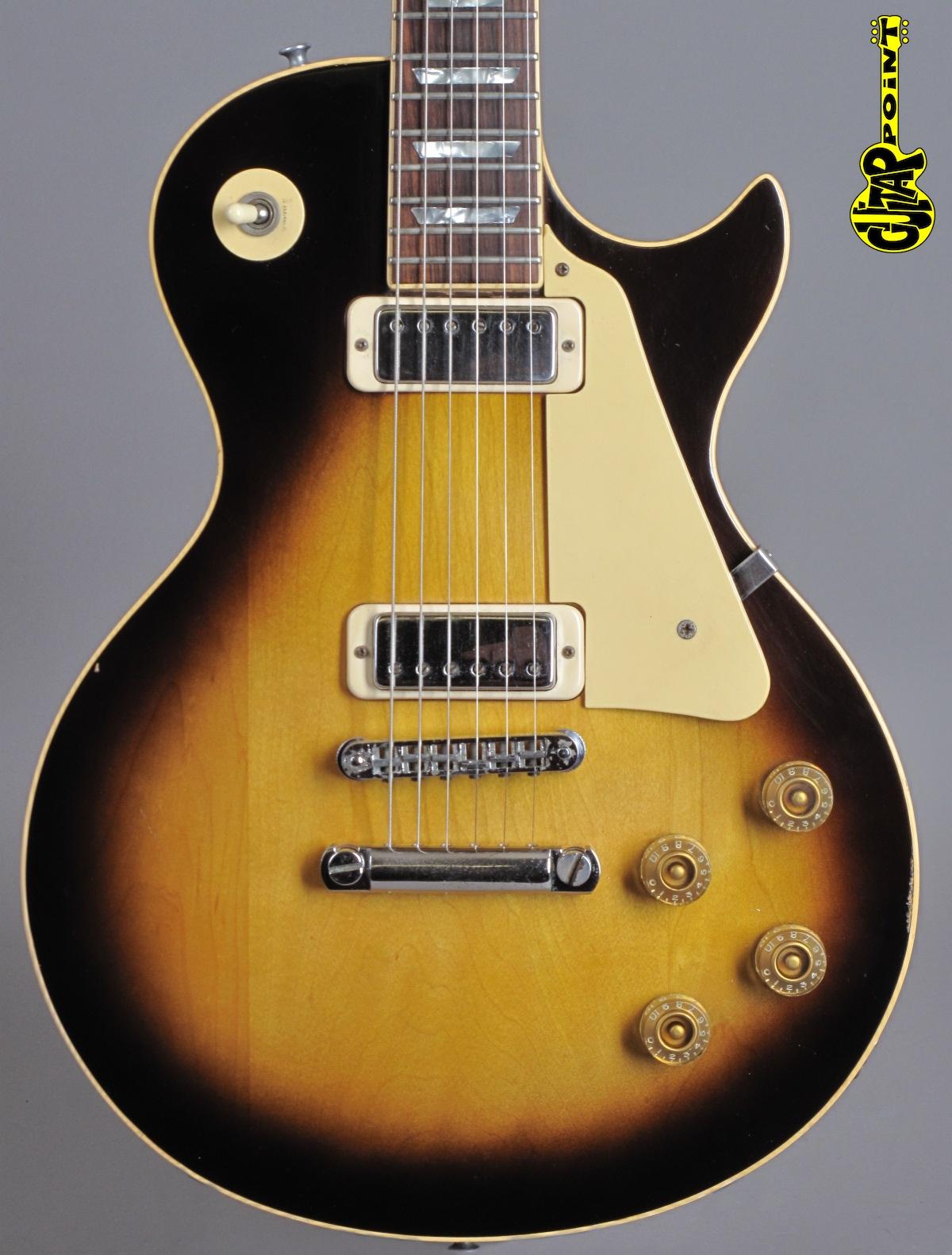 1980 Gibson Les Paul Deluxe - Tobacco Sunburst