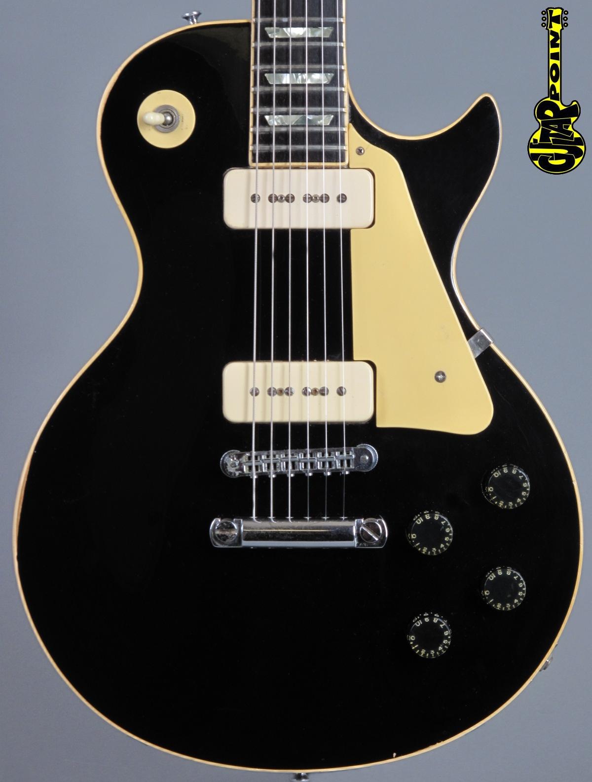 1980 Gibson Les Paul Pro - Ebony