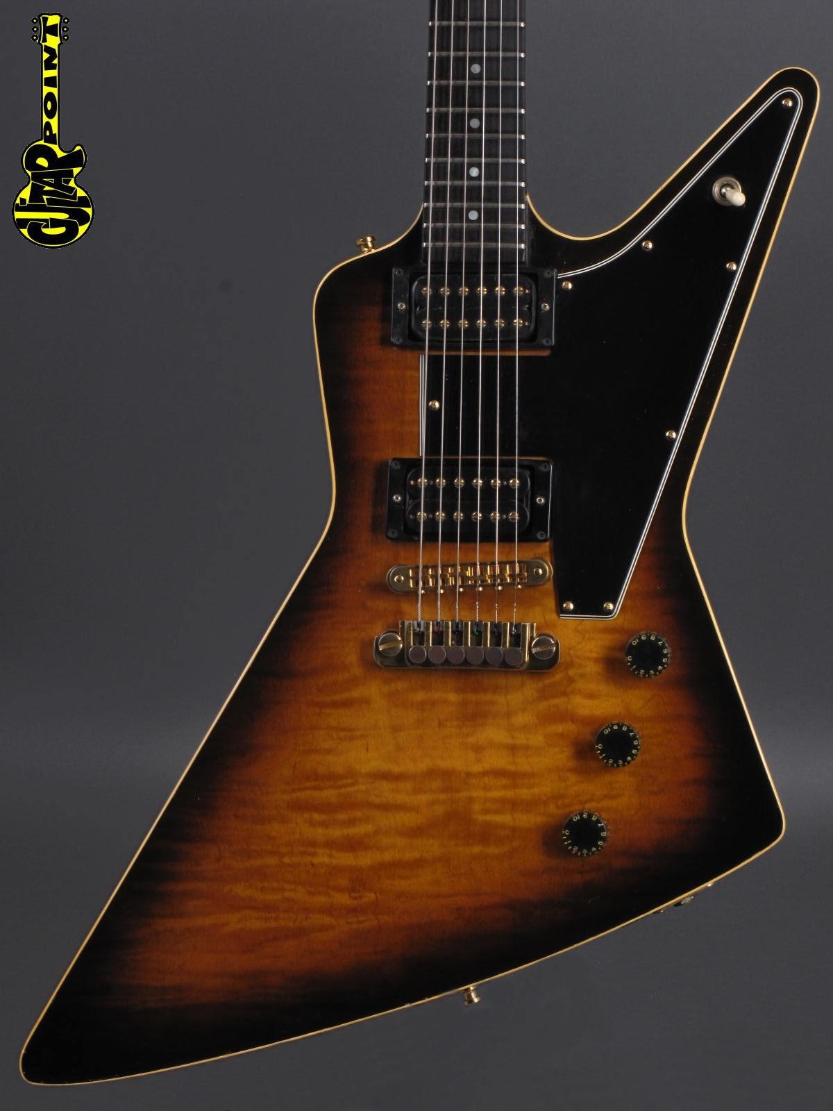 1981 Gibson Explorer E/2 CMT - Sunburst