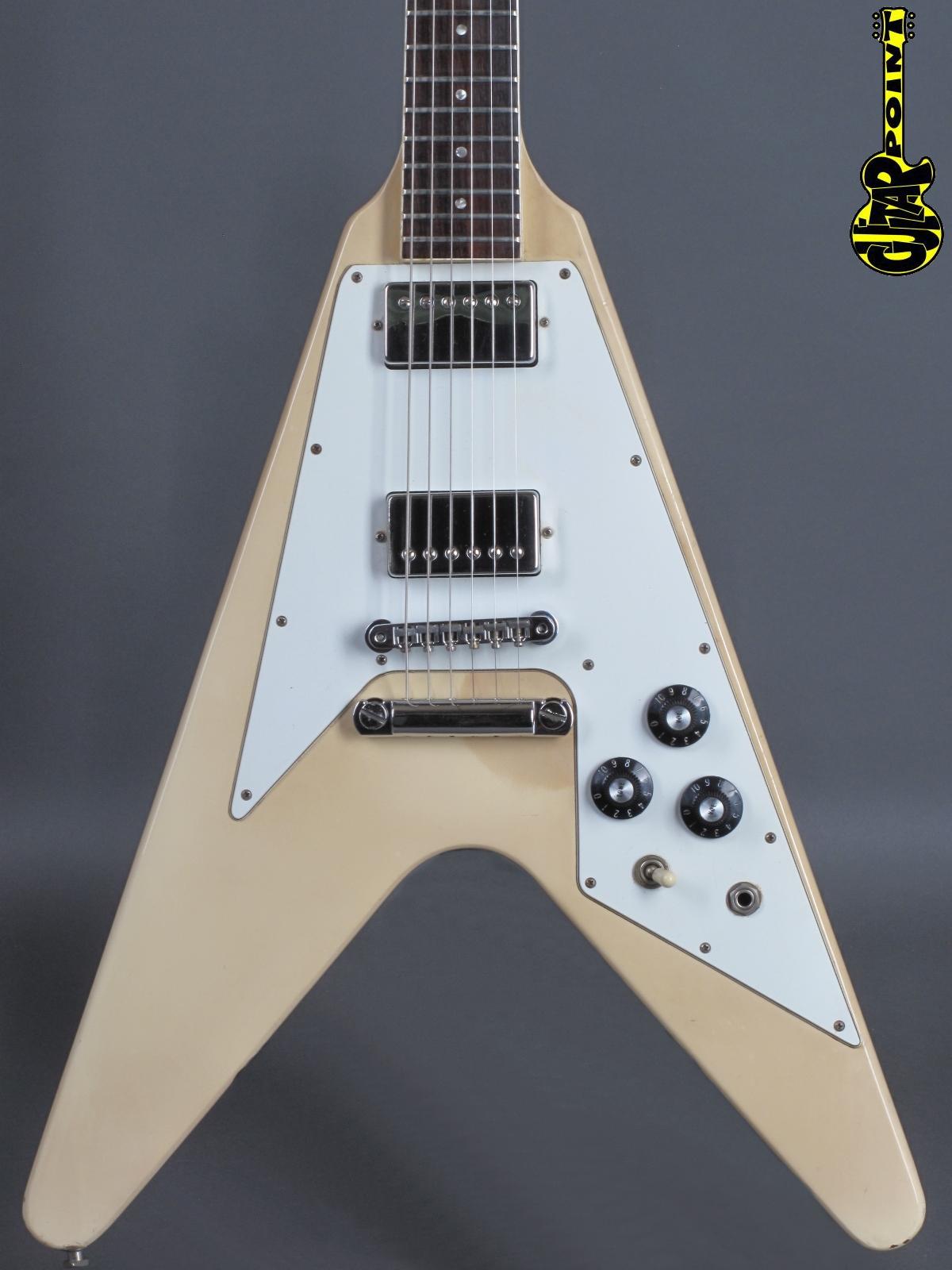 1981 Gibson Flying V - White