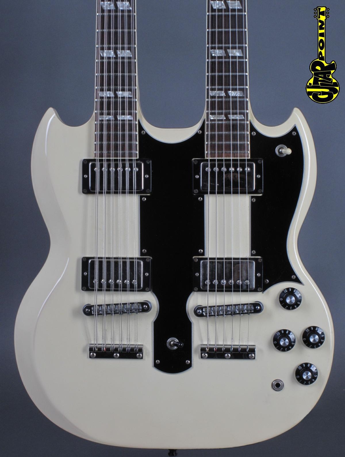 1981 Gibson EDS-1275 Doubleneck - White