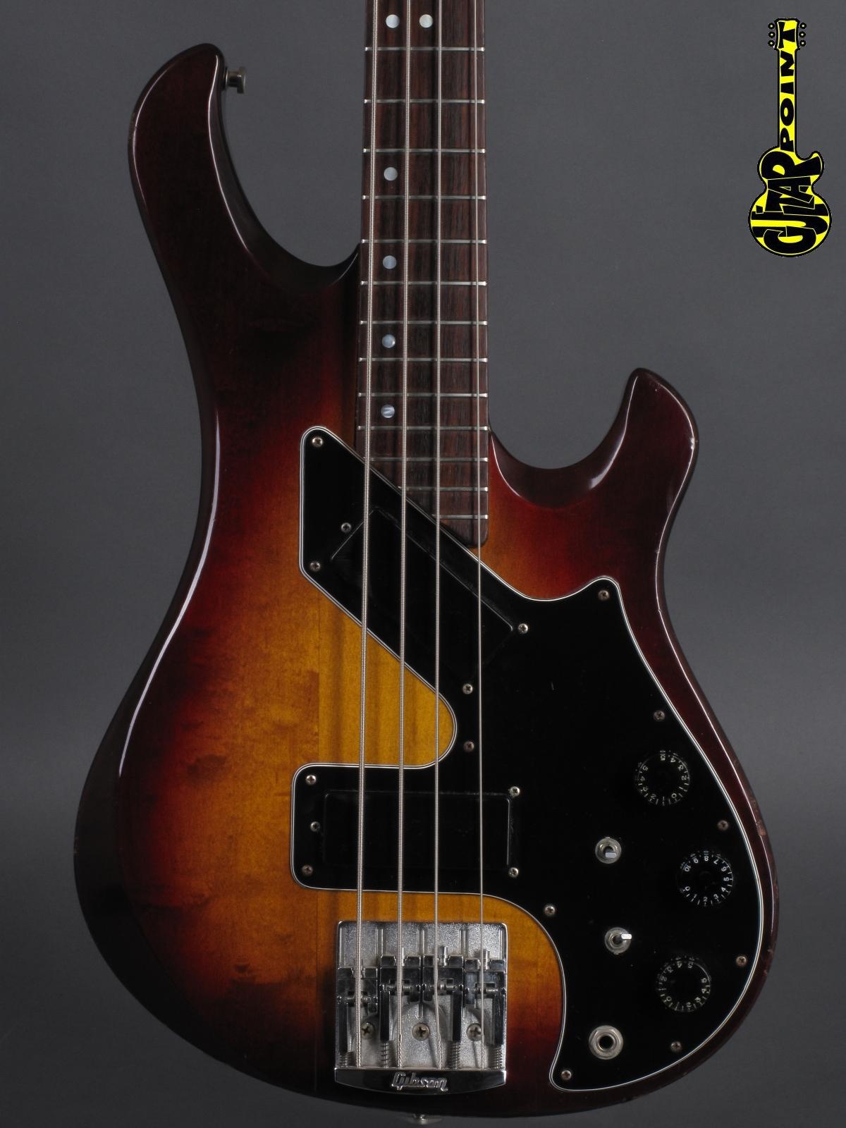 1981 Gibson Victory Artist Bass - Antique Fireburst