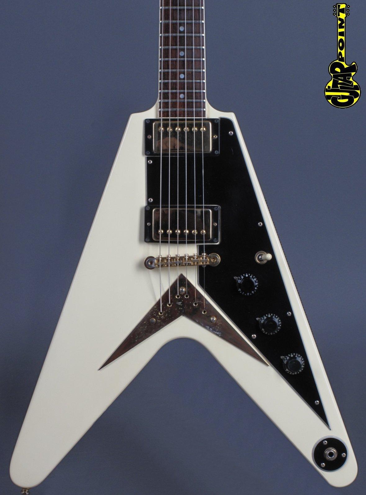 1982 Gibson Flying V - Heritage FF82 - White